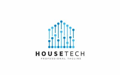 House Tech Digital Logo Template