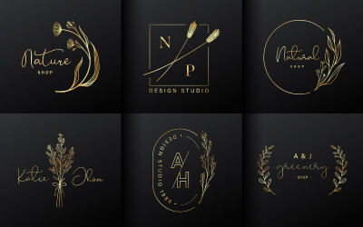 Luxury Logo Design Collection For Branding Coporate Identity Logo template