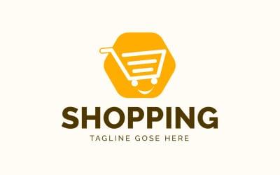 Modern Online Shopping Icon Logo template