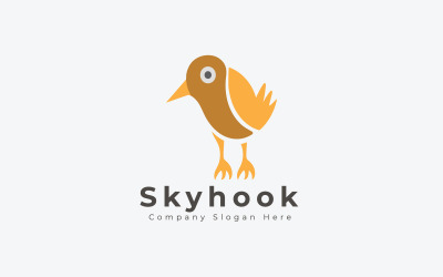 Modern Skyhook Logo Template