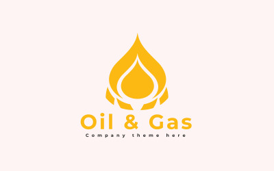 Oil and Gas Logo Template