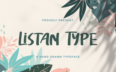 Listan Type - Playful Display Font