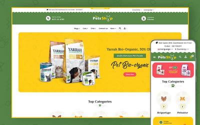 Pet Shop - Pets & Animal OpenCart Responsive Theme