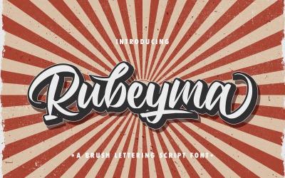 Rubeyma - Bold Script Font