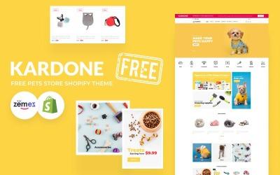 Тема магазину безкоштовних домашніх тварин Kardone Shopify