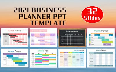 2021 Business Planner PowerPoint šablony
