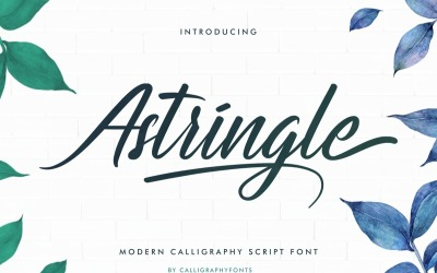 Astringle Modern Calligraphy Fonts
