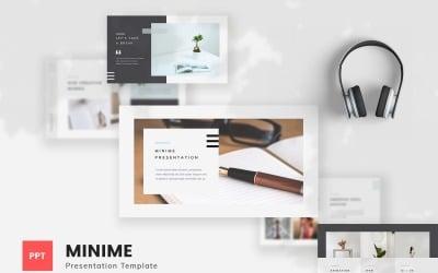 Minime - Minimal PowerPoint Template