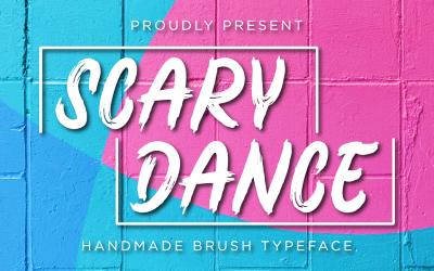 Scary Dance - Handwritten Brush Font