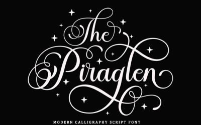 The Piraglen - Modern Calligraphy Font