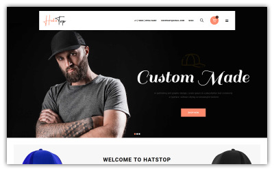 Hatstop - Cap Opencart Store