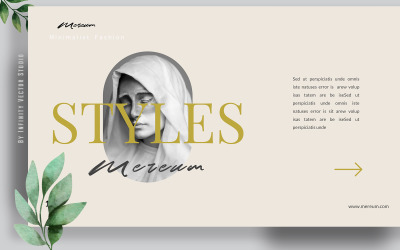 Mereum Creative Unique Powerpoint template