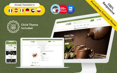 Greentea - Responsive Theme van PrestaShop