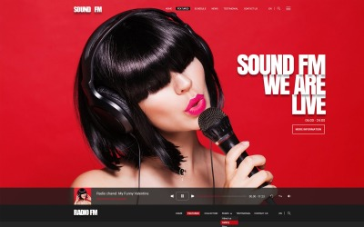 Radio-FM - Website Template