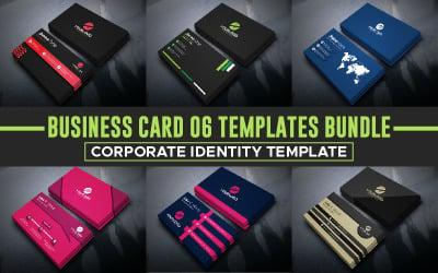 Business Card 6 Templates Bundle - Corporate Identity Template