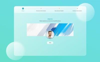 Formulário de várias etapas - Bootstrap, modelo HTML5 multifuncional responsivo