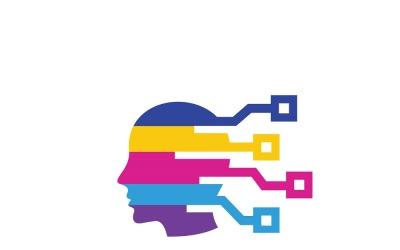 Multi Colorful Logo Template