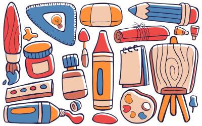 艺术工作室-涂鸦矢量 #01