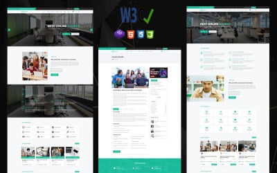 Educam   Education & Online Courses HTML Template.