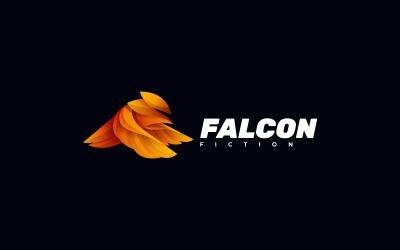 Falcon Gradient Colorful Logo Template