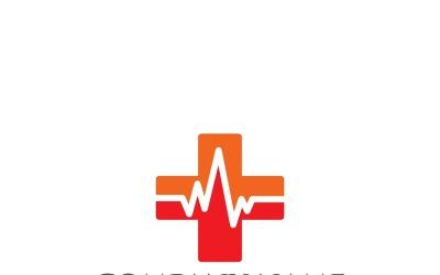 Hospital Cross Logo and Symbol Vector