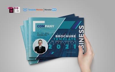 Landscape Brochure - Corporate Identity Template #03