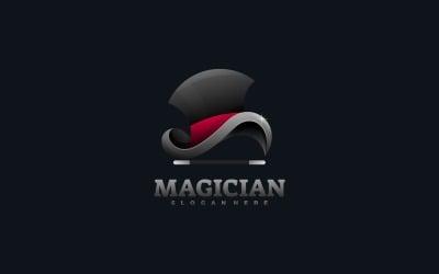 Magician Gradient Colorful Logo Template