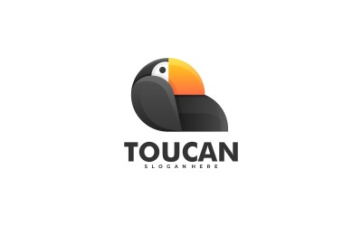 Toucan Gradient Colorful Logo Template