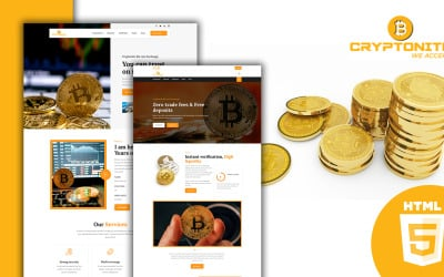 Cryptonite - Cryptocurrency HTML Template