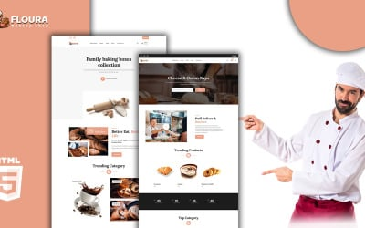 Floura - Bakery HTML Template