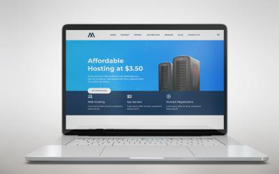 Shuvo Host | Web Hosting HTML5 Landing Page Template