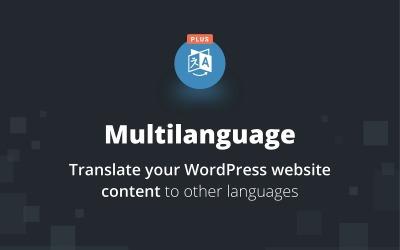 Wtyczka Multilanguage Plus WordPress