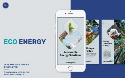 Ecology Instagram Stories Template
