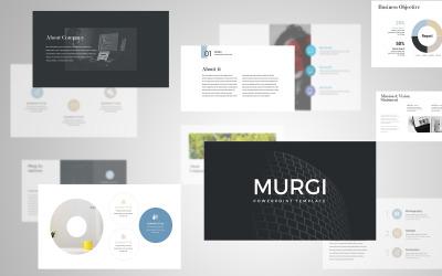Murgi Modern PowerPoint PresentationTemplate