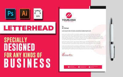 Letterhead Template Vol: 02 - Corporate Identity Template