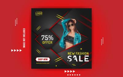 Fashion Sale Promotional Social Banner