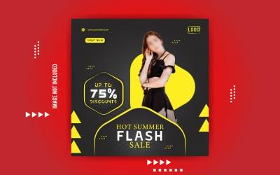 Flash Sale Social Media Design