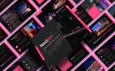 Nextion – Business Keynote Template Presentation