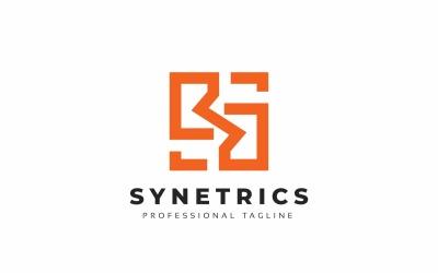 Synetrics S letter Logo Template