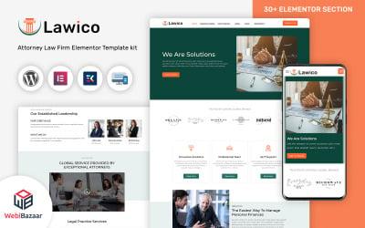 Lawico - Law Lawyer & Attorney WordPress Theme