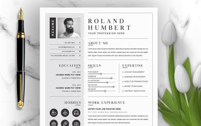 Roland Humbert / Resume Template