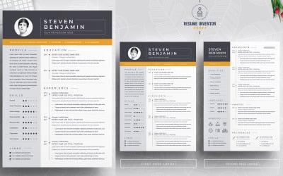 Steven Benjamin / Resume Template