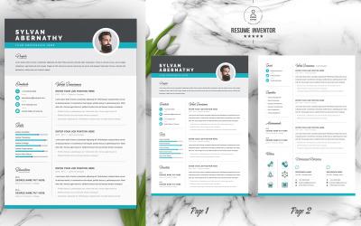 Sylvan / CV Template Printable Resume Templates