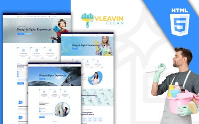 Vleavin - Cleaning Service HTML Template