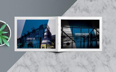 A5 Horizontal Business Brochure Indesign Brochure