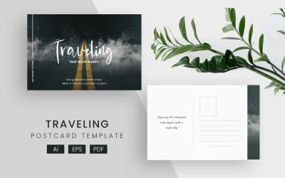 Creative Travelling Post Card
