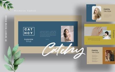 Catchy Creative Lookbook Keynote