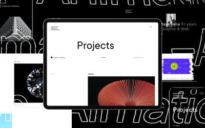 Delia | WordPress Theme For Freelancer