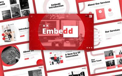 Embedd Technology Presentation PowerPoint Template