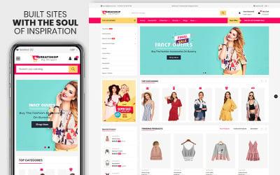 Greatshop- The clothing & Fashion Premium Shopify Theme